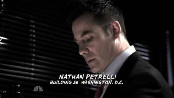 "Nathan Petrelli, our ""villian"" for this Fugitives."