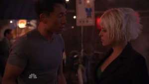 Ando and Daphne discussing the disappearances