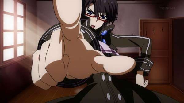 I swear... this finger pose is used way too much in anime.