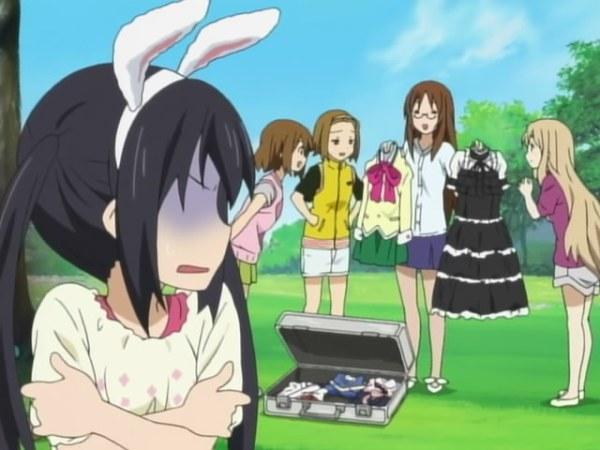Bunny ear maid cosplays
