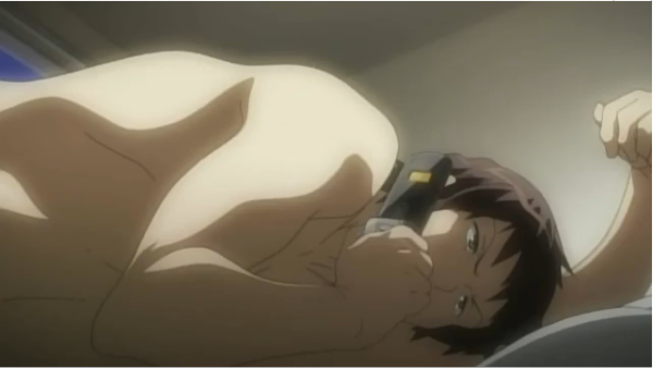 For example, Kyon showed off quite a lot more skin this time.
