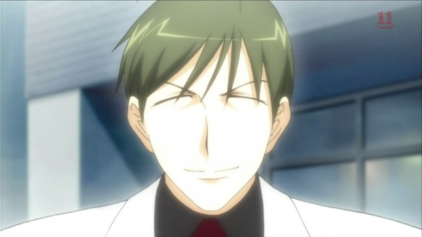 He has a rather funny looking face. And is awfully bright. O.o