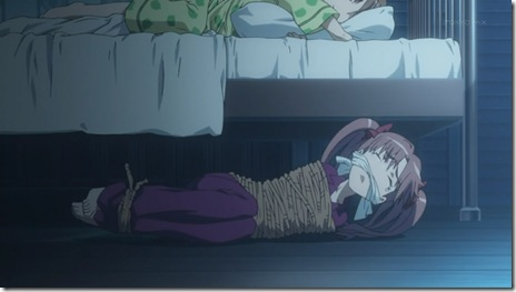 Don't annoy Mikoto when she wants her sleep.