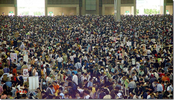 A previous comiket in Japan